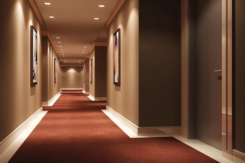 Hotel Walkway